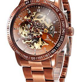 Automatikuhr | braun-metall Automatik Armbanduhr