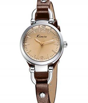 quarzuhr braun | armbanduhr braun leder | elegante armbanduhr