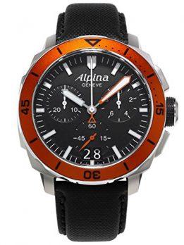 Taucheruhr | schwarz orange armbanduhr | armbanduhr für taucher