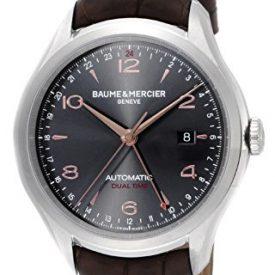 Baume & Mercier Uhren   Armbanduhr leder braun