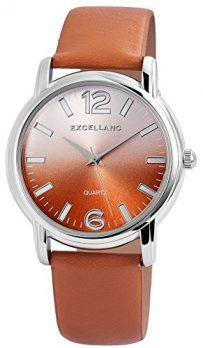 Analoguhr | Armbanduhr Analog | Damen Analoge Armbanduhr Leder | Hellbraune Armbanduhr Damen