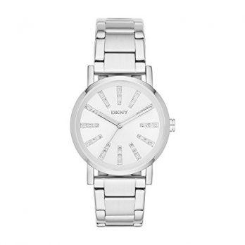 DKNY Uhr | Damenuhr DKNY | Armbanduhr mit weißem Ziffernblatt