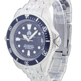 automatik taucheruhr   armbanduhr für taucher   massives metallband armbanduhr