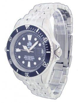 automatik taucheruhr | armbanduhr für taucher | massives metallband armbanduhr