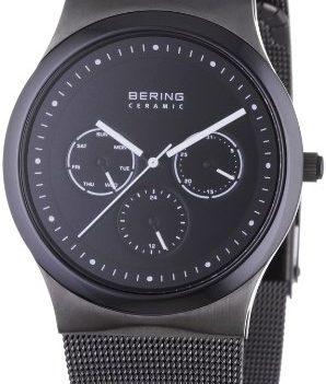 Armbanduhr schwarz   schwarze armabnduhr kermaik