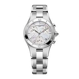 Baume & Mercier Uhren   Damen armbanduhr   silber edelastahl armbanduhr