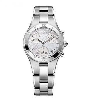 Baume & Mercier Uhren | Damen armbanduhr | silber edelastahl armbanduhr