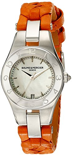 Baume & Mercier Uhren | Damen armbanduhr orange