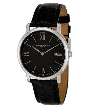 Baume & Mercier Uhren   Herren Armbanduhr schwarz