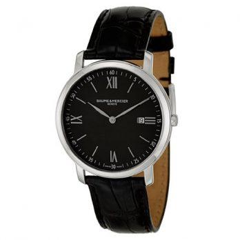 Baume & Mercier Uhren | Herren Armbanduhr schwarz