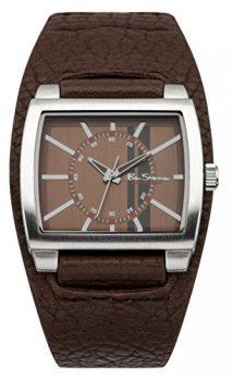 Ben Sherman Uhr | Herren armbanduhr | Lederarmband braun herrenuhr