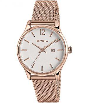 Breil armbanduhr | Rose armbanduhr mit weißem ziffernblatt