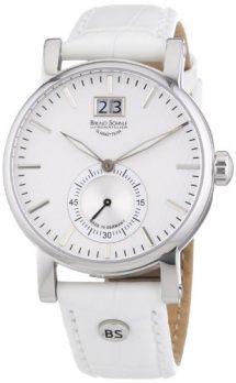 Bruno Söhnle Uhren | damenarmbanduhr weiß | damenuhr mit weißem lederarmband| damenuhr mit weißem ziffernblatt