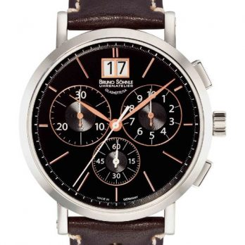 Bruno Söhnle Uhren | herren armbanduhr | XL armbanduhr | Lederarmbanduhr herren