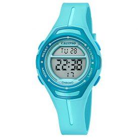 Armbanduhr Digital | Blaue Digitale Armbanduhr | Damen Blaue Digital Uhr | Türkise Armbanduhr