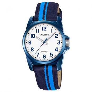 Calypso Uhren | Armbanduhr blau | Kinder armbanduhr | Jungen armbanduhr | Armbanduhr hellblau-dunkelblau