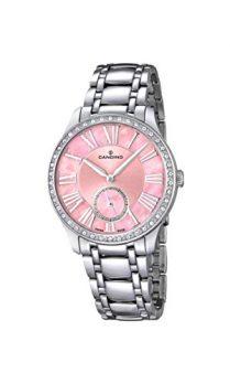 Candino Uhren | Damenarmbanduhr | silber edelstahl armbanduhr