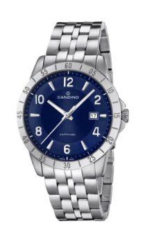Candino Uhren | Herren Armbanduhr | Herrenuhr | edelstahl uhr | armbanduhr mit blauen ziffernblatt