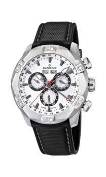 Candino Uhren | Herrenarmbanduhr | Leder schwarz armbanduhr