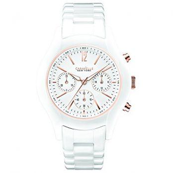 Caravelle New York Uhren | damenuhr weiß | weiße armbanduhr