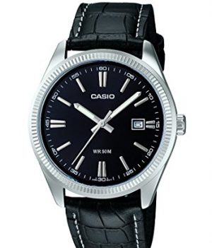 Casio Uhren | Herrenarmbanduhr Analog | Armbanduhr schwarz
