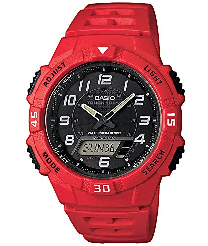 rote armbanduhr   solar armbanduhr   herrenuhr rot