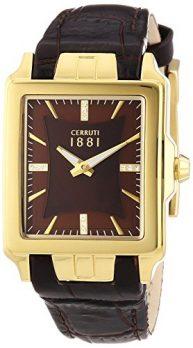 Cerruti Uhr | Damenarmbanduhr Leder