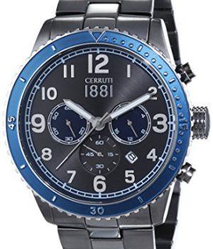 Cerruti Uhr   Herrenarmbanduhr blau