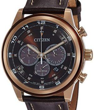 Citizen Uhr | Herren armbanduihr edelstahl | herren uhr mit lederband