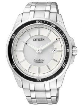 Citizen Uhr | Herrenarmbanduhr hell | analog-quarz titan Uhr herren | helle armbanduhr herren