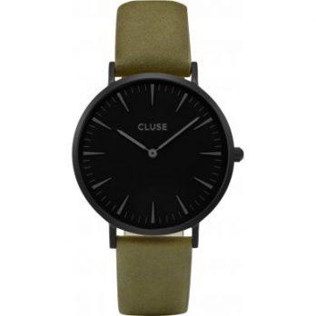 Cluse Uhr | grüne armbanduhr | olivgrüne armbanduhr