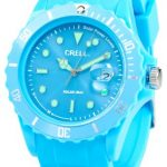 solar armbanduhr | silikonarmbanduhr | leuchtbkaue armbanduhr