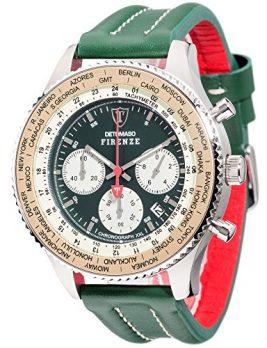 Detomaso Uhr | grüne armbanduhr | armbanduhr mit grünem Ziffernblatt