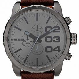 Diesel uhr | Herrenuhr Diesel | Armbanduhr Herren mit braunem Lederband