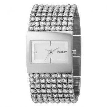 DKNY Damenuhr | DKNY Uhr | Edelstahl Armbanduhr | Silberne Armbanduhr Damen