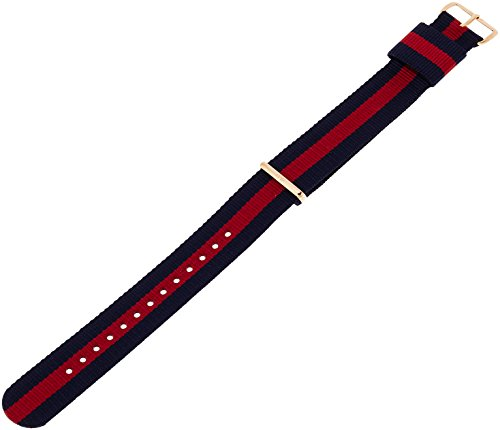 Schliesse Dw00200001 Classic Oxford Herren Wellington Armband Uhren Roségold Natostrap Blau Rot Daniel N8n0wvm