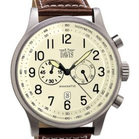 Fliegeruhr | Armbanduhr Leder Wasserdicht