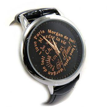 Armbanduhr | Schwarze Armbanduhr
