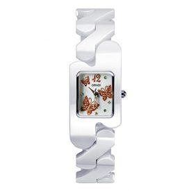 kermaikuhr | weiße keramik armbanduhr | damen weiße armbanduhr