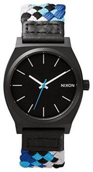 Nixon Uhr | Armbanduhr Nixon | schwarz-blaue armbanduhr