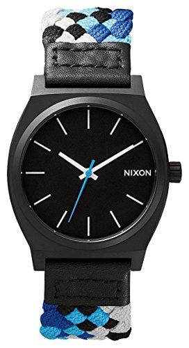Nixon Uhr   Armbanduhr Nixon   schwarz-blaue armbanduhr