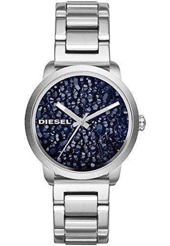 Diesel damenuhr blau