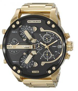 Diesel Uhr   herrenuhr Diesel   chronographuhr von Diesel   Herrenuhr mit schwarzem Ziffernblatt   Chronograph Armbanduhr Herren