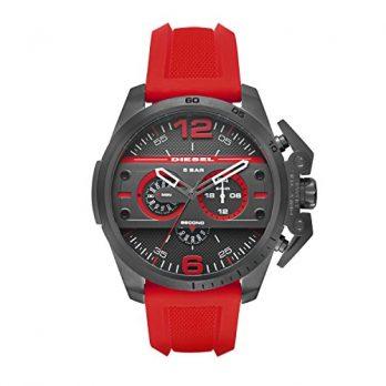 Diesel Uhr | Herrenuhr Diesel | Rote Armbanduhr Herren