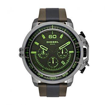 Diesel Uhr | herrenuhr Diesel | Armbanduhr mit grünem Glas | grüne Armbanduhr