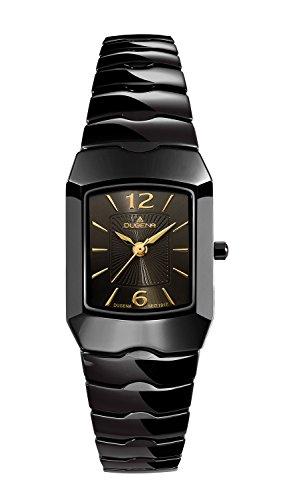 Dugena Uhr   Damenuhr Dugena   Schwarze Armbanduhr Damen   Damenuhr schwarz