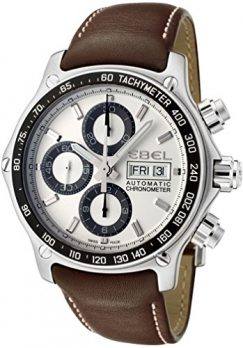 Ebel Uhr | Herrenuhr Ebel | Chronograph Uhr Herren | Herrenuhr mit Lederband