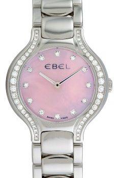 Ebel Uhr | Damenuhr Ebel | Damenuhr mit Pink Ziffernblatt