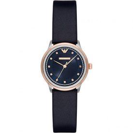Emporio Armani Uhr | Damenuhr Emporio Armani | Dunkelblaue armbanduhr damen | armbanduhr mit blauem ziffernblatt | damenuhr mit blauem lederband