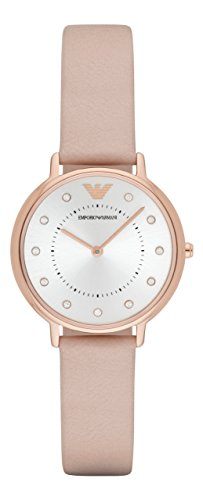Emporio Armani Uhr | Damenuhr Emporio Armani | Rosa Armbanduhr damen